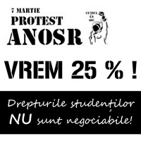 afis protest studentesc